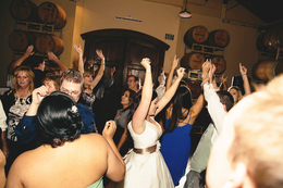 orange county wedding dj djmc ian b crowd dancing