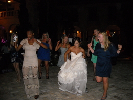 Newport Wedding DJ Bride Dancing